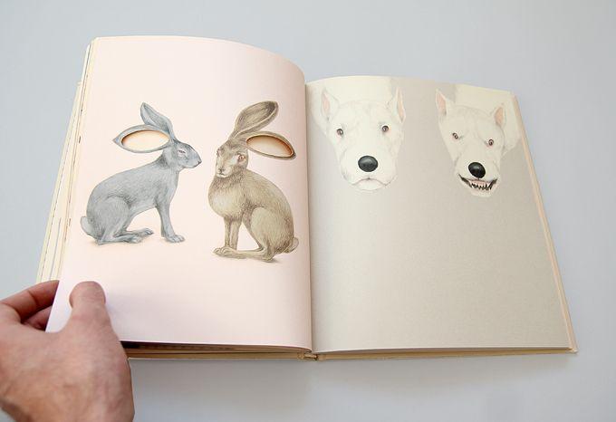 """""""Oczy"""", tekst i ilustracje: Iwona Chmielewska, Wydawnictwo: Warstwy"""