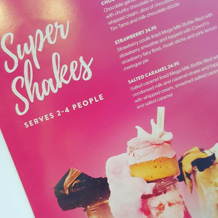 What to do when dining alone and the milkshake serve 2-4?? We printed these menus and I'm proud to say I resisted the urge to lick my monitor when the artwork was sent over! @cowchofficial