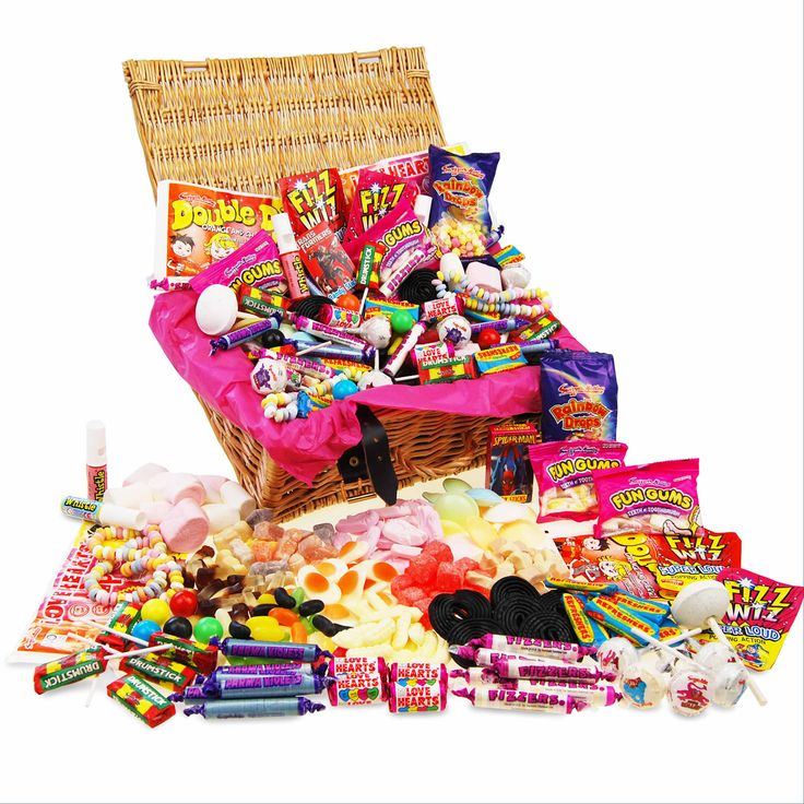 I Just Love It Retro Sweet Hamper Retro Sweet Hamper - Gift Details. Take a sugary blast from the past. Many years ago a 20 pence piece was all you needed to buy a mountain of sweets that?d probably last you a lifetime. But alas tim http://www.MightGet.com/january-2017-11/i-just-love-it-retro-sweet-hamper.asp