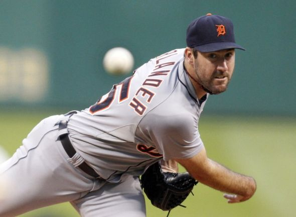 Tigers' Justin Verlander exits game in early with shoulder injury