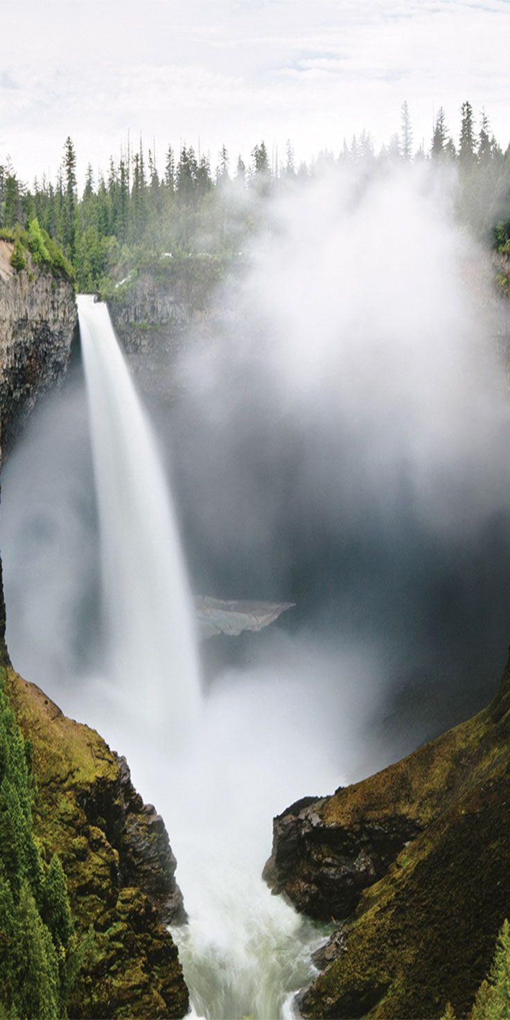 Helmcken Falls, Wells Grey National Park, BC - by Thurston Photo