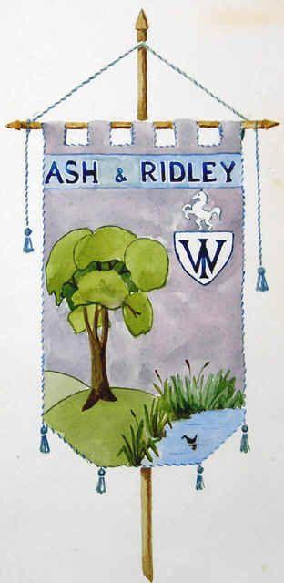 Women's Institute - W.I. Book of Ash next Ridley 1957