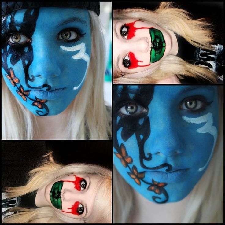 Hollywood Undead Face Paint