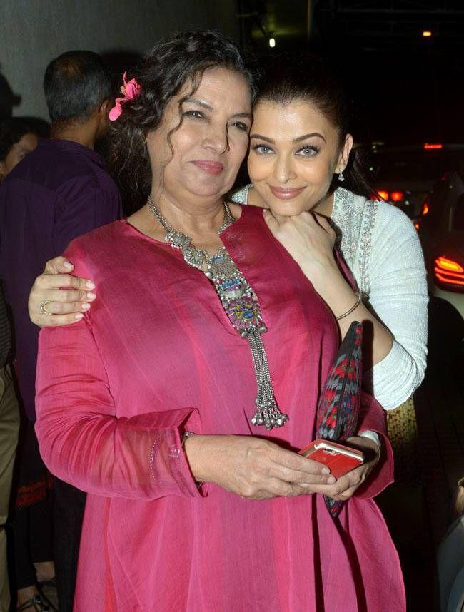 Hugs, kisses and some PDA: Aishwarya, Shabana steal the show at Jazbaa screening