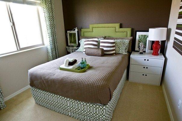 Небольшие спальни - Дизайн интерьеров   Идеи вашего дома   Lodgers