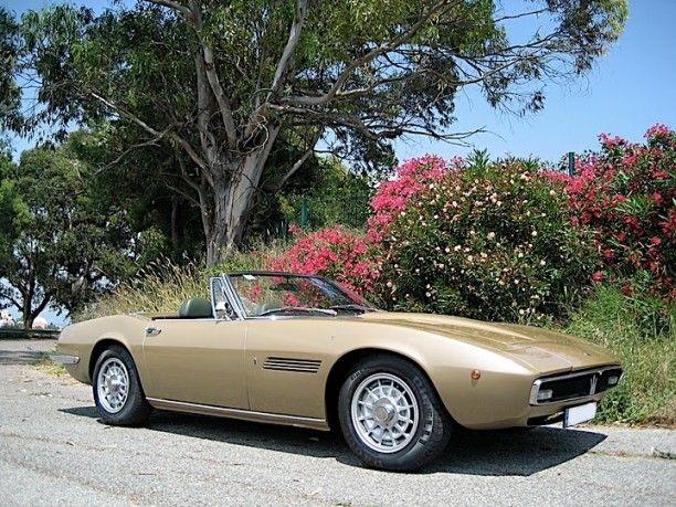 VIA THEMA - 1969 Maserati Ghibli 4700 Spyder by Giordanengo for Sale - viathema.com