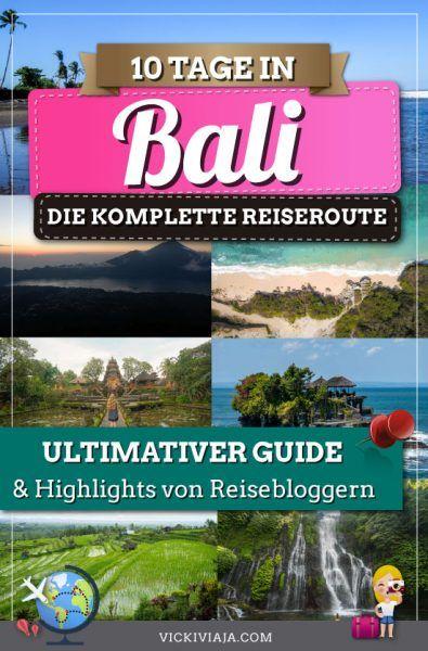Deine Bali Rundreise 2 Wochen zu den besten Bali Sehenswürdigkeiten