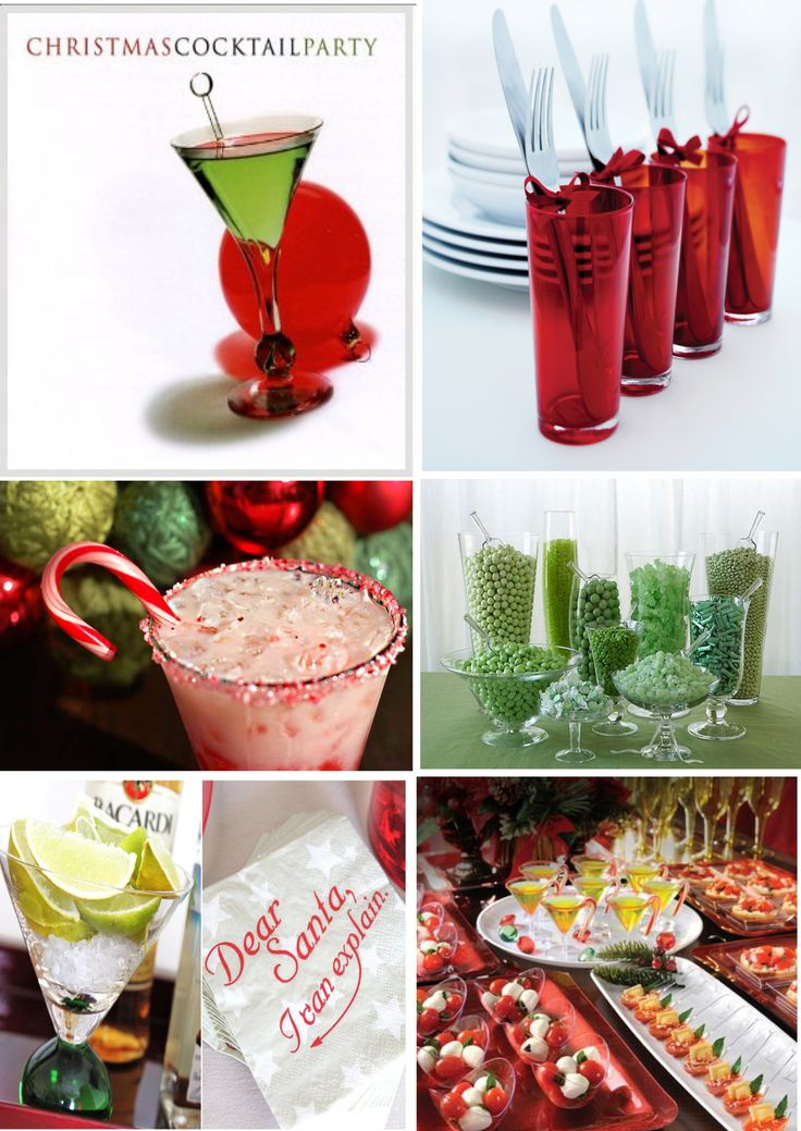 17 best images about christmas parties on pinterest for Hosting a christmas cocktail party