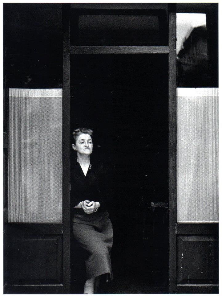 """Nino Migliori, """"La padrona dell'osteria"""", 1957 Carbon print on 100% cotton paper."""