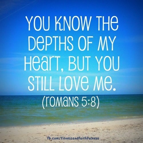 But God commendeth his love toward us, in that, while we were yet sinners, Christ died for us. (Romans 5:8)