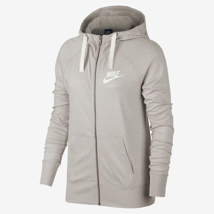 Nike Sportswear Gym Vintage Sudadera con capucha con cremallera completa - Mujer