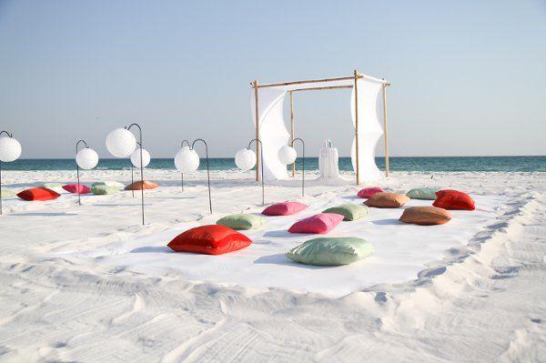 Amazing Beach Wedding Decoration Ideas: 17 Best Images About Wedding Ceremony/reception Decor On