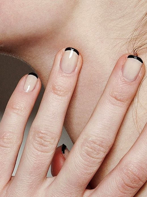How I choose my manicure, but with more black.