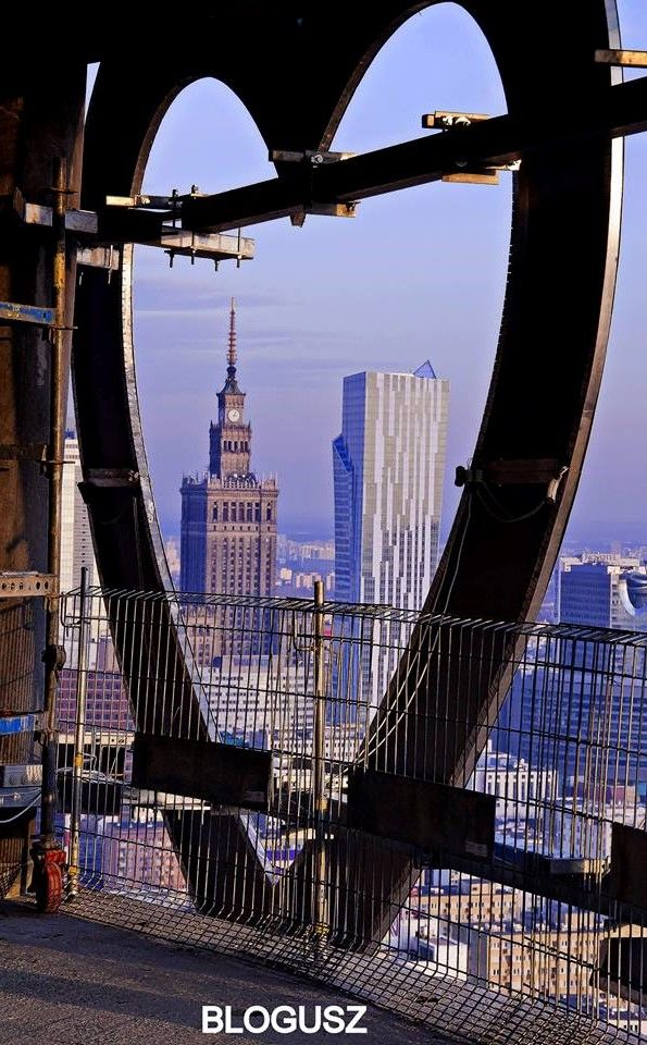 Beautiful heart View # Warsaw - Poland