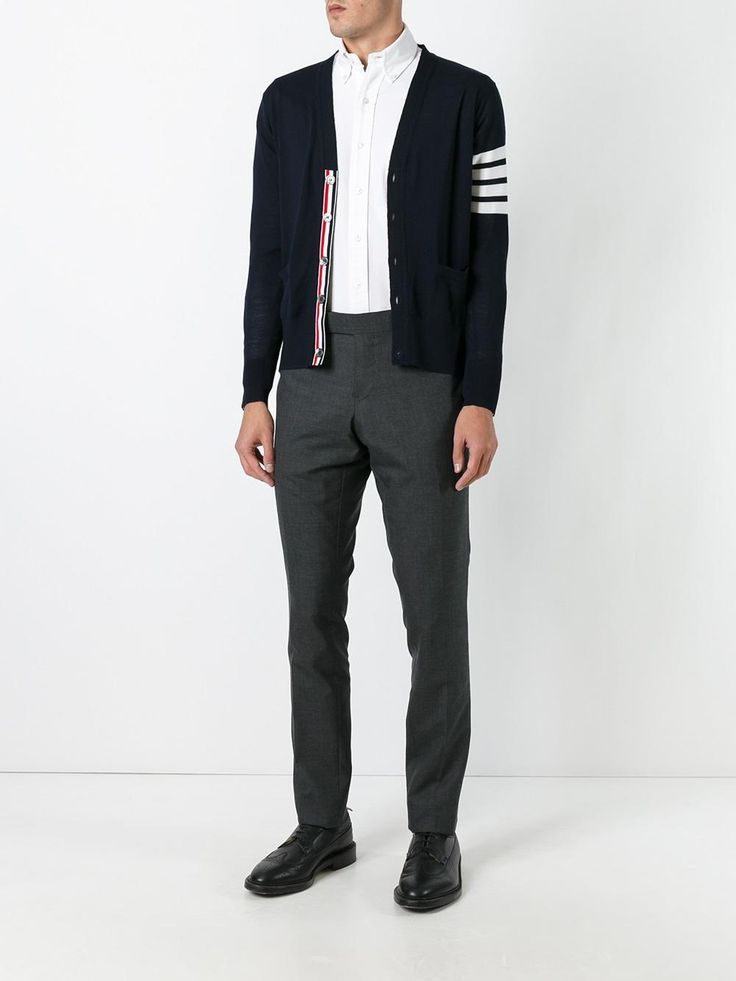 Thom Browne v-neck cardigan