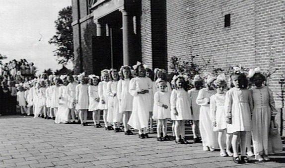 Parochie H. Martinus, 't Veld, Niedorp. 1946
