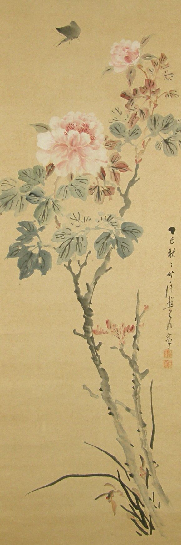 133 best paintings japanese images on pinterest for Japanese watercolor paintings