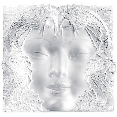 Lalique Crystal Woman Face Mask Art Glass Pinterest