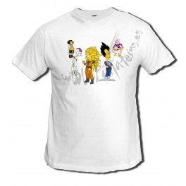 Camiseta Dragon Ball Z Simpsons