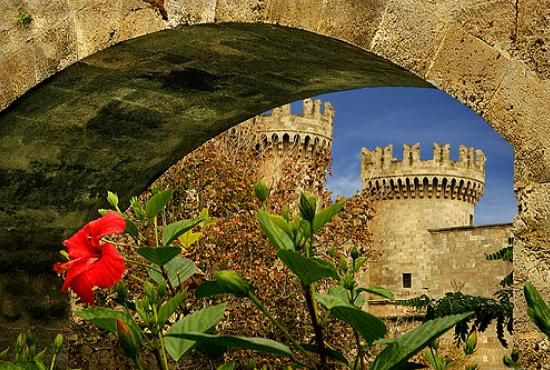 Spring is here in the #Medieval Town of #Rhodes, #Greece ! We have a limited for March offer for you ;) Go at http://www.camelot-rhodes.com  and book now!! #travel