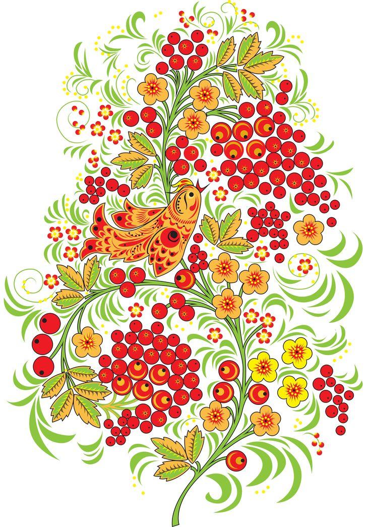 Русский рисунок картинки образом