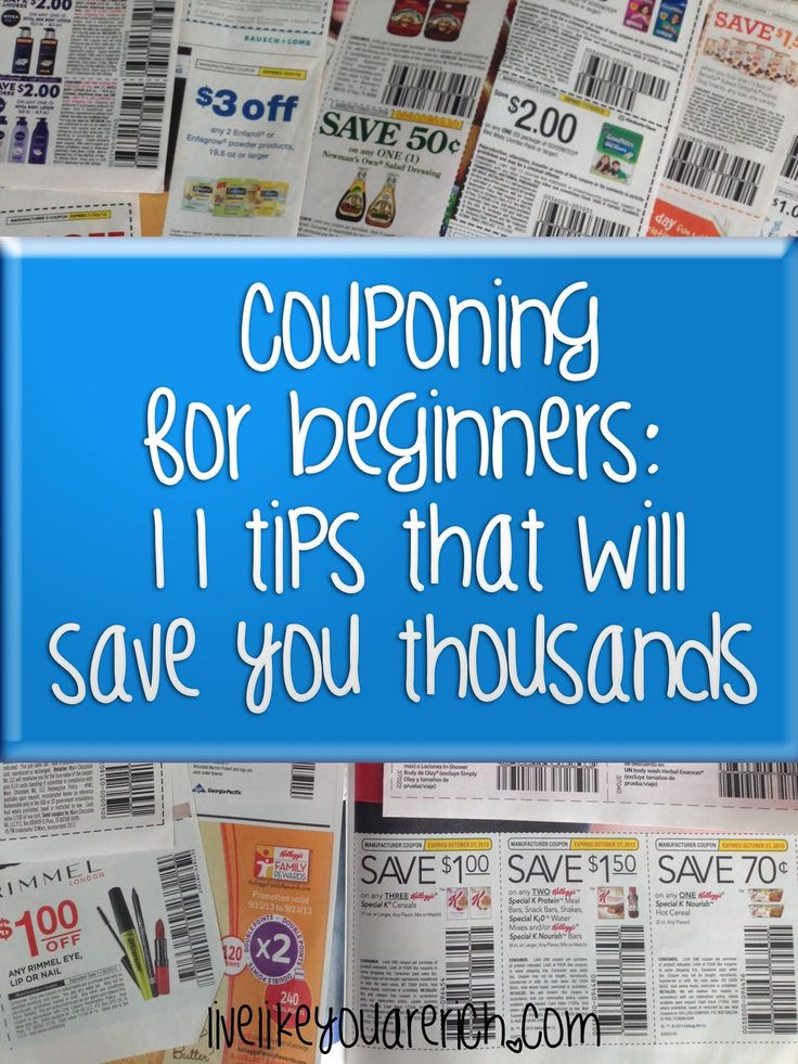Great advice on #couponing esp. tips 6-9!