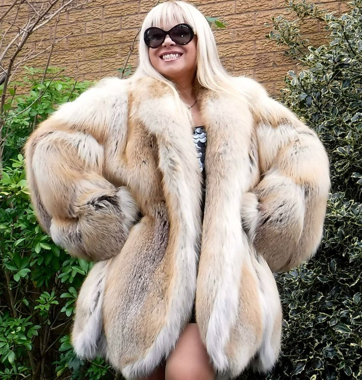Golden Island Red Silver Fox Fur Coat Unisex Size L XXL Absolutely Gorgeous | eBay