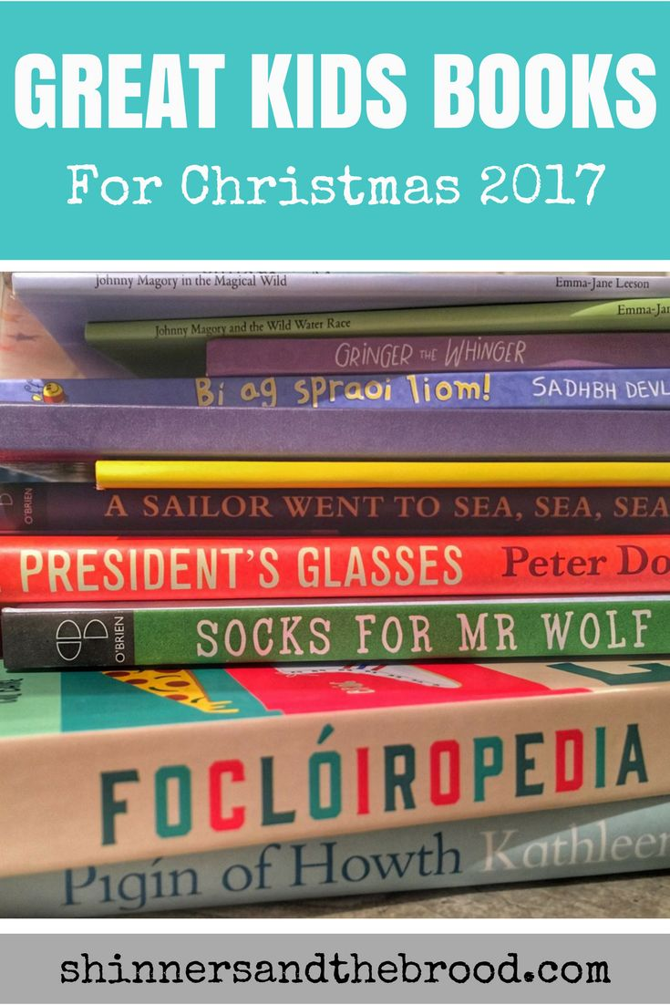 If you love buying books as gifts or filling stockings with some of the best ones around, check out the ultimate list of kids' books for Christmas, 2017.