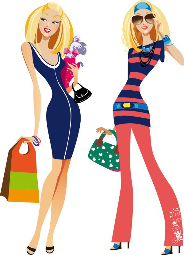 women clip art free | Posted in Characters , Graphics , Illustrations , Vectors