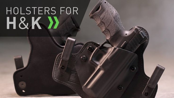 H&K Holsters for Concealed Carry by Alien Gear - YouTube