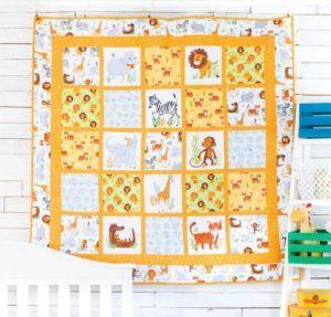 Wild Safari Quilt Kit