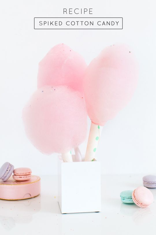 How to make spiked cotton candy - Sugar & Cloth