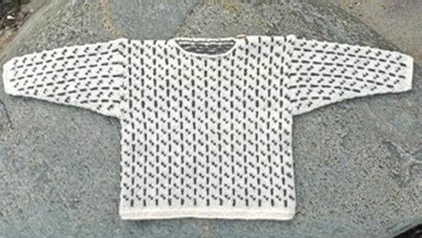 Færøsk Trøje I - strikkeopskrift - Sweatre - Englegarn