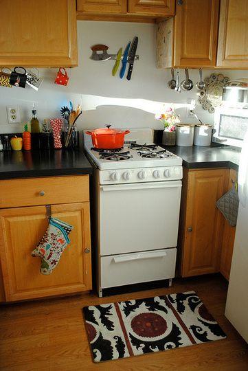My Kitchen's 4 Most Helpful Small Organizational Tools>>Apartment Therapy #kitchen #organization