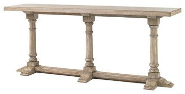 Lexington Twilight Bay Veronica Console Table-Driftwood traditional-console-tables