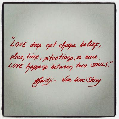Haidji: Love - Book Quote - Love War Story - Harables - Sh...