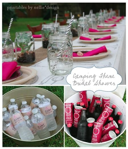 Camping Wedding Ideas: 66 Best Camping Theme Wedding Shower Images On Pinterest