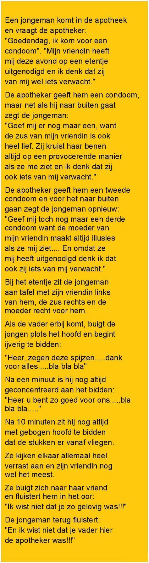 Een jongeman komt.. - Zieer.nl