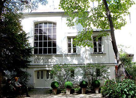 Atelier d'Eugène Delacroix © Anne-Marie Minvielle Maison Eugène-Delacroix, 6 rue de Furstenberg, 75006 Paris.