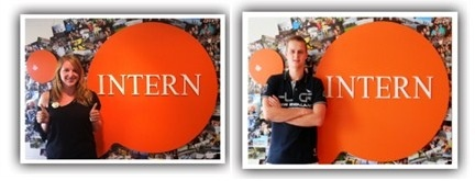 Our two Dutch Interns Maud & Bart are soon leaving. Thank you for interning with us!