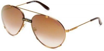 Óculos Carrera CA80S Aviator Sunglasses,Antique Gold,60 mm #Óculos #Carrera