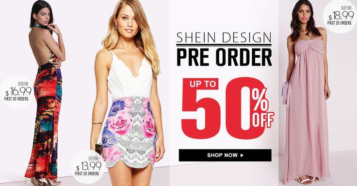 SheIn Preorder-SheIn