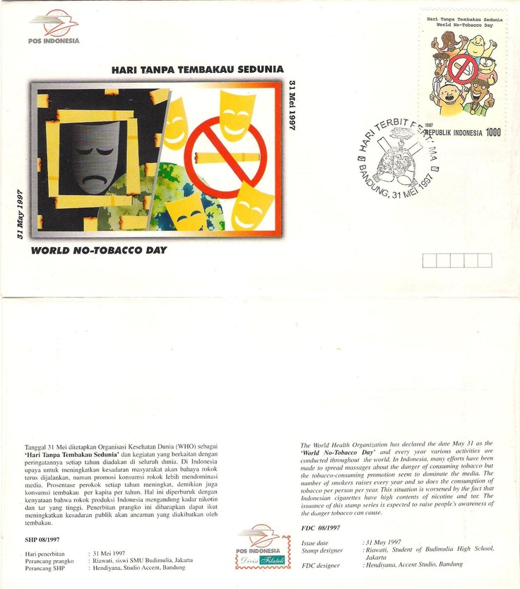 Stamp Hari tanpa tembakau