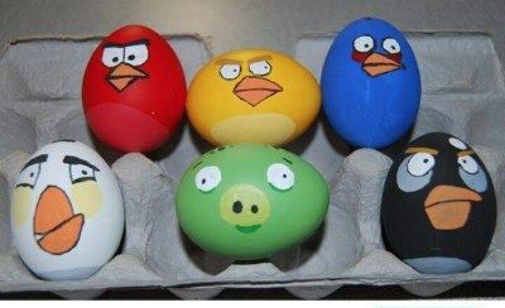 Яйца-птички