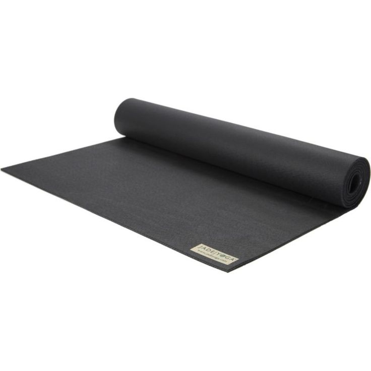 Jade Yoga Harmony Professional 4.7mm Yoga Mat, Black