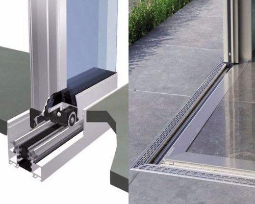 Sistema de ventanas correderas prácticamente sin marco