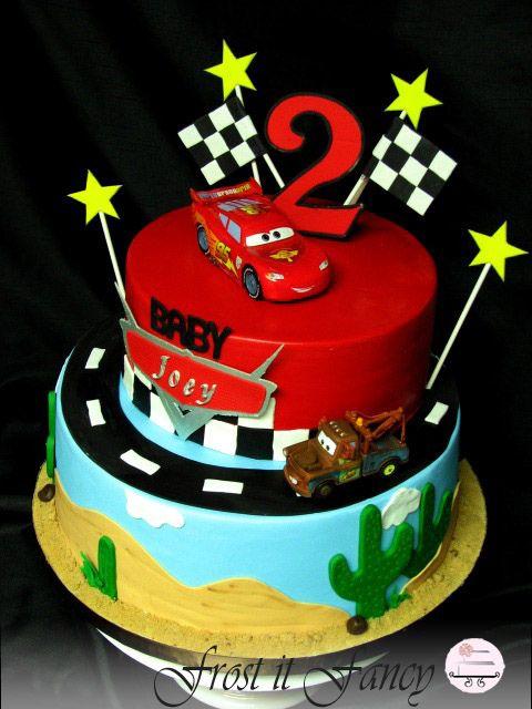 160 best Disneys Cars Cakes images on Pinterest Car cakes