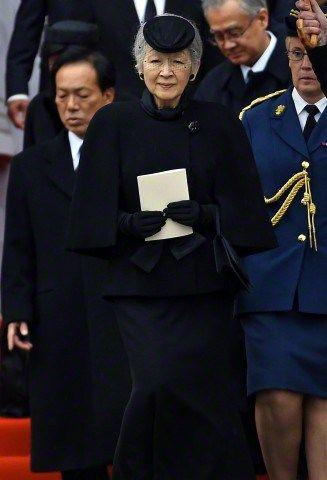Empress Michiko, December 12, 2014 | Royal Hats