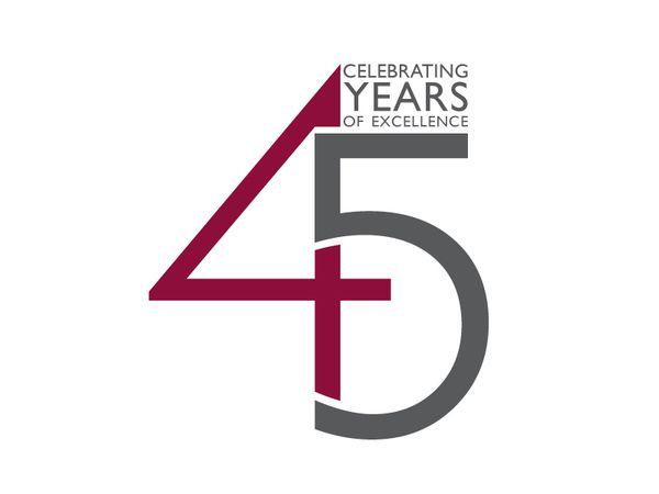 45th anniversary logo - Google Search