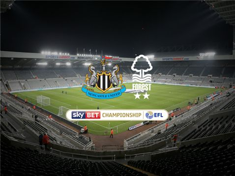 Live coverage of Nottingham Forests Sky Bet Championship game against Newcastle United at St James Park